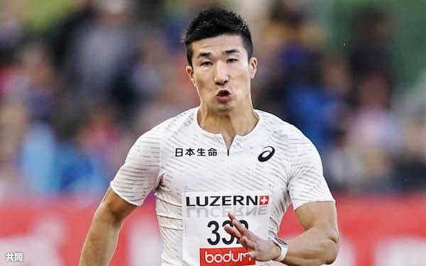 男子100メートル決勝 10秒21の5位だった桐生祥秀(9日、ルツェルン)=共同