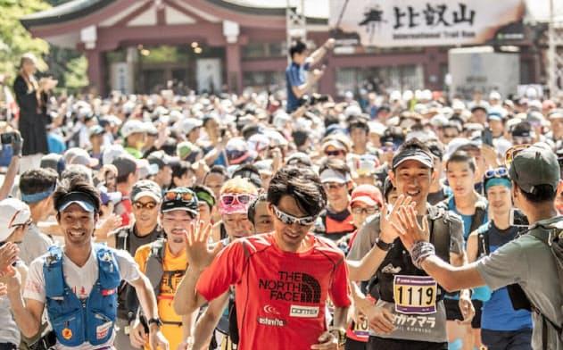 心を整えて笑顔で修行道を走るレースへ(比叡山延暦寺)