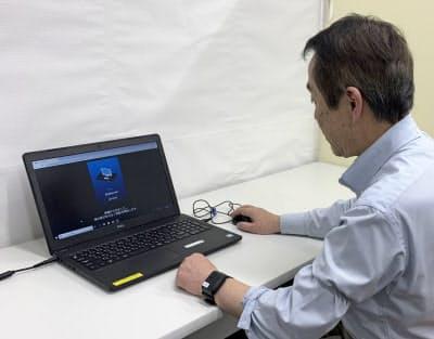 イスラエル企業が開発した、人の緊張度合いなどを測れるリストバンド型機器