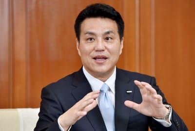 山田義仁 オムロン社長兼CEO
