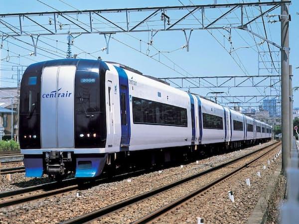 名古屋―中部国際空港を結ぶ名鉄の特急「ミュースカイ」