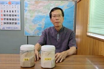 「アジア市場には勢いがある」と語る沖坤の宮城社長