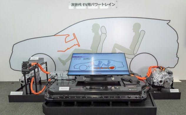 ホンダはEVの電池を搭載する骨格を世界で共通化する