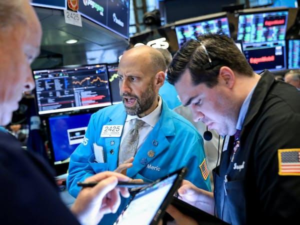 NY株は上値が重くなっている=ロイター