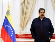 ベネズエラのマドゥロ大統領(9日、カラカス)=ロイター