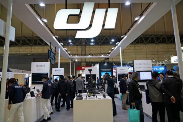 DJIは北米のドローン市場で8割近いシェアを握るとされる