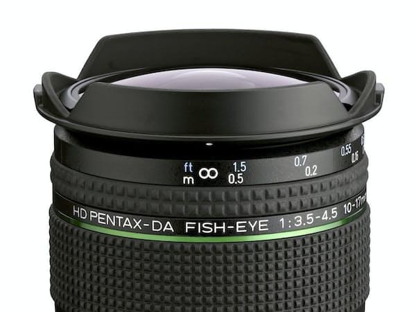 リコーが26日に発売する一眼レフカメラ用魚眼レンズ