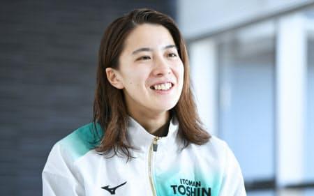 世界選手権初出場だった2年前、いきなり女子200メートル個人メドレーで銀メダルを獲得した。