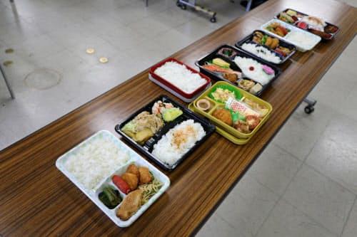 奈良市の学童保育で長期休暇中に提供されるお弁当