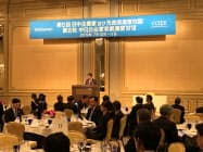 経団連と中国国際経済交流センターは都内で11日、日中CEO等サミットを開いた