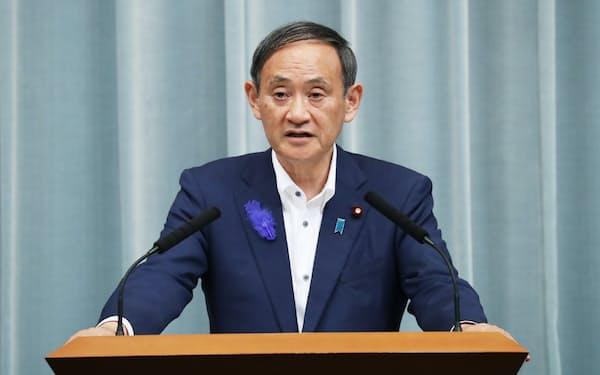 菅官房長官は参院選の応援で東京を離れる日が多くなっている