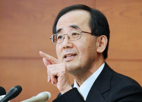 日銀の白川前総裁(2009年2月)