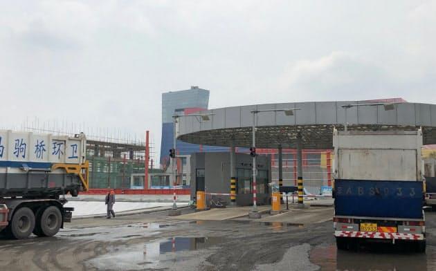 昨年稼働を始めた北京市最大規模のごみ処理場