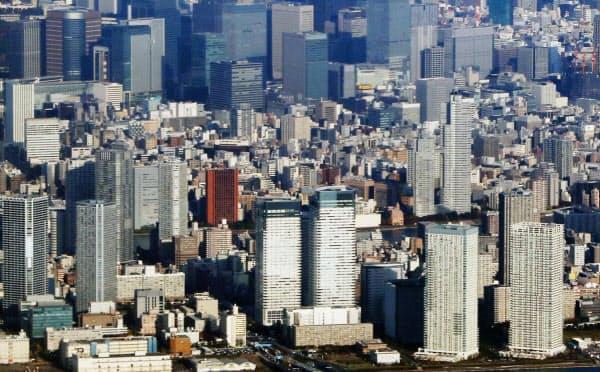首都圏で2004年以降に分譲された大規模再開発マンション164物件の中古流通価格を調査した