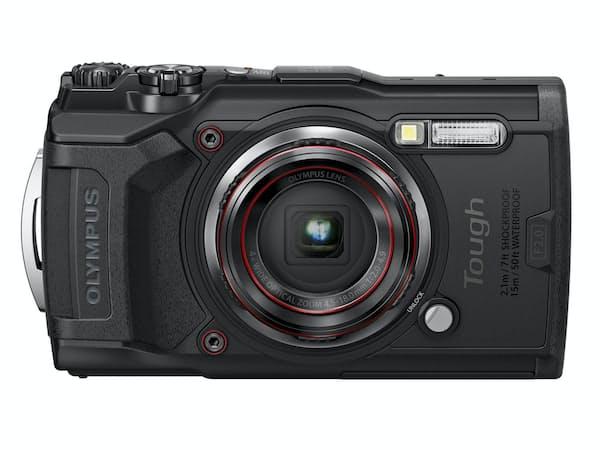 オリンパスが9月中旬に発売する工事現場向け業務用コンパクトデジタルカメラ「TG-6 工一郎」