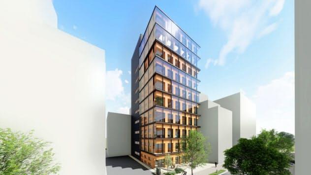 大林組は2022年までに、純木造の高層ビルを建設する