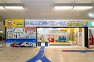 京成電鉄などが京成立石駅に設置した「けいせいたていし プラレール駅」(東京都葛飾区)