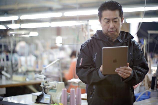 シタテルはアパレル企業やデザイナーを全国の工場につなぐサービスを提供