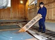 草津温泉独自の入浴法「時間湯」の湯長