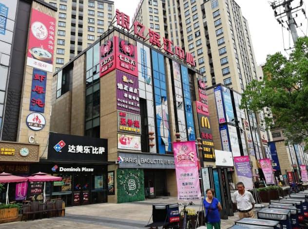 不動産会社「銀億」は社債の債務不履行を起こした(上海市の同社の管理物件)