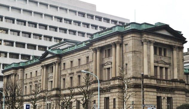 来年中にも日銀は世界最大の日本株保有者になる見通し(東京・日本橋本石町の日銀本店)