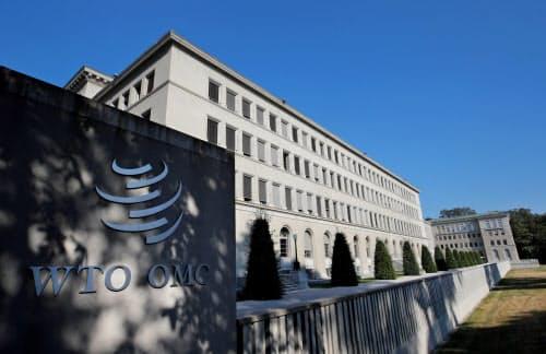 WTOの一般理事会には加盟国・地域の大使級が参加する(スイス・ジュネーブの本部)=ロイター