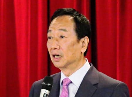 台湾総統選の予備選で敗退した鴻海の郭台銘前董事長