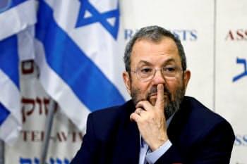 イスラエルのバラク元首相=ロイター