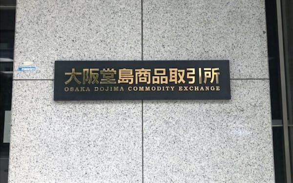 堂島商取はコメ先物の売買高が取引所全体の9割超を占める