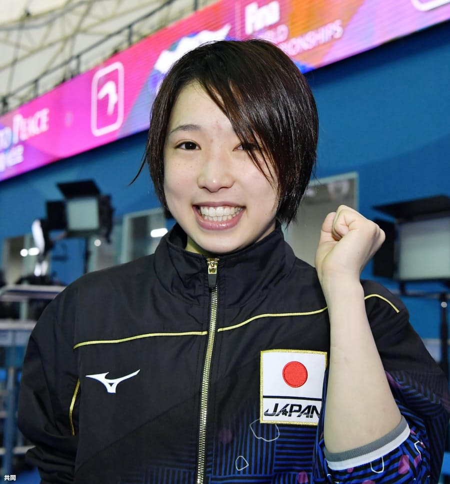 荒井祭里、東京五輪代表に内定 飛び込み女子: 日本経済新聞