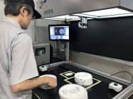 子会社化したベルギーのシステム会社の仕組みを積極活用する(17日、神戸市)