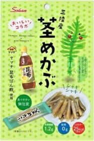 壮関が発売する「ヤマサぽん酢使用三陸産茎めかぶ」