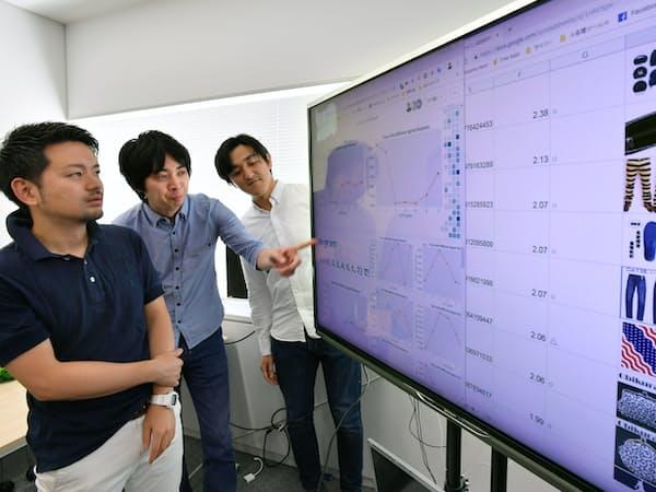 サイバーエージェントは広告の分析にAIを活用する(東京都渋谷区)