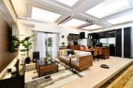 大塚家具がヤマダ電機の店舗に家具を供給する(写真は売り場イメージ)