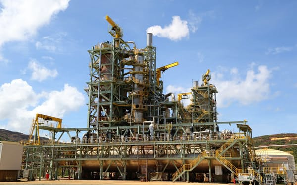 フィリピンのタガニートHPALニッケルの製錬プラントでは19年3月期に操業トラブルが相次いだ