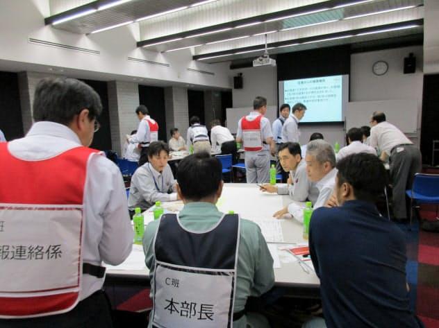 紀陽リース・キャピタルが開催したBCPの訓練