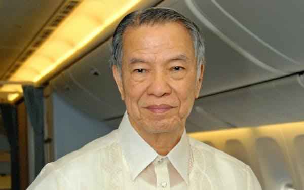 フィリピン航空の社長を当面兼務するルシオ・タン会長