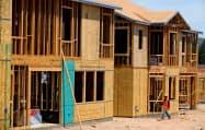 米住宅着工件数は6月、2カ月連続で減少したが、主力の一戸建ては前月比3.5%増加した=ロイター