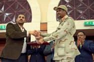スーダンの軍と市民側は17日、軍民合同の評議会設置に関する文書に署名した