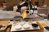 コネクテッドロボティクスは朝食ロボットを開発しホテルで実証実験した(18日、東京 ・港)