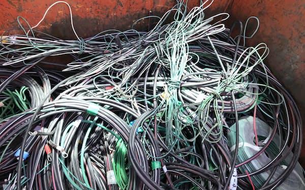 国内に滞留した廃電線などのスクラップが相場を下押ししている