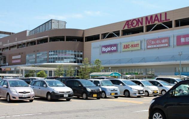 イオンモール高岡(富山県高岡市)は富山県内に加えて岐阜の飛騨地域などからの集客を狙う