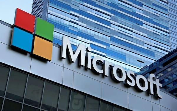 マイクロソフトは4~6月期、純利益・売上高ともに過去最高を更新した=ロイター