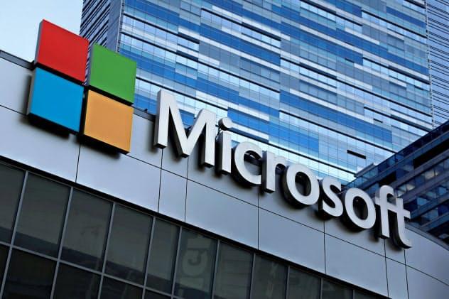 マイクロソフトは過去最高の業績をあげた=ロイター