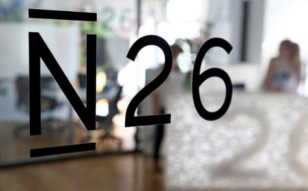 ベルリンに本社を置くN26のロゴマーク=ロイター