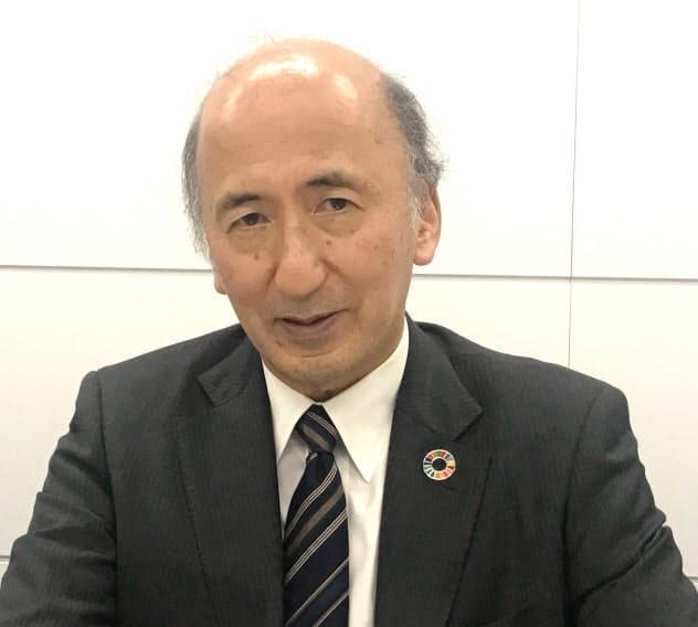東京国際金融機構会長の中曽宏・前日銀副総裁