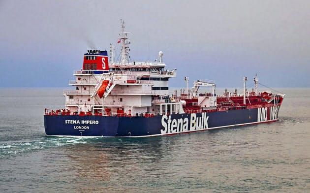 イラン、ホルムズ海峡で英タンカーを拿捕 革命防衛隊