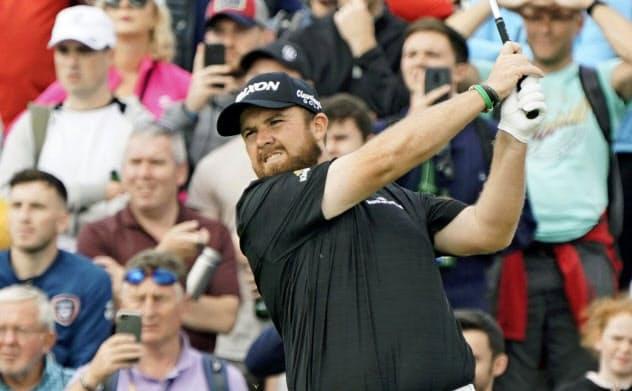 ローリーは8バーディーで63。「ゴルフ人生で最も素晴らしかった日」と納得顔だ=共同