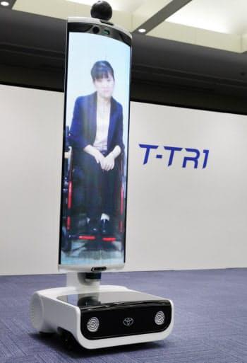 公開されたトヨタ自動車の「T-TR1」(東京都文京区)