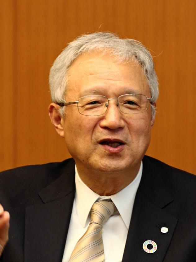 日本製薬工業協会の中山譲治会長